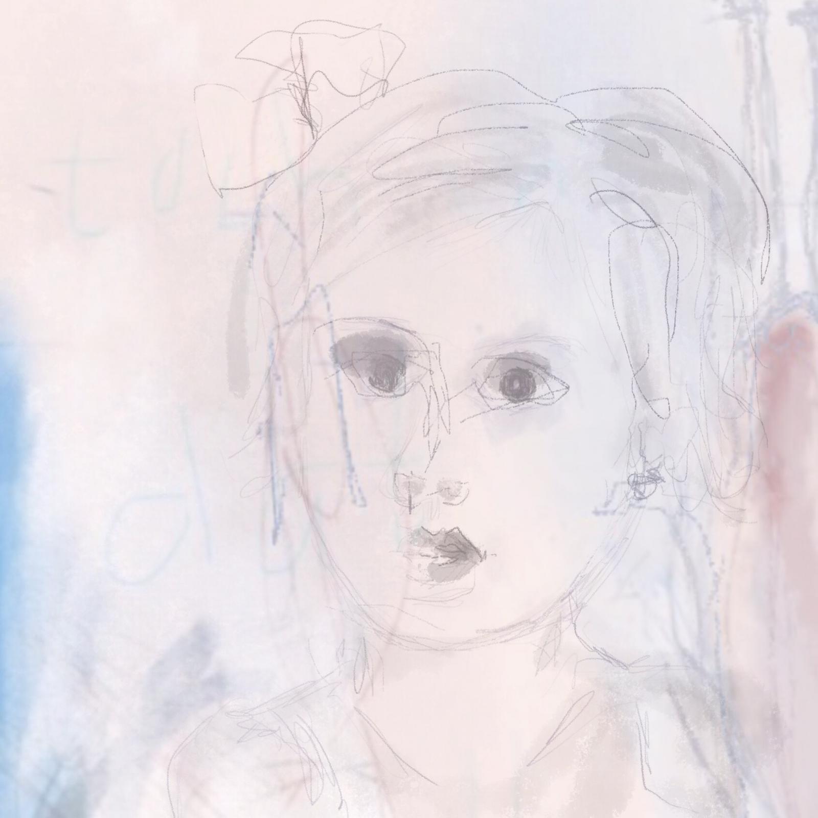 jeugdportretje van Anne-Riet