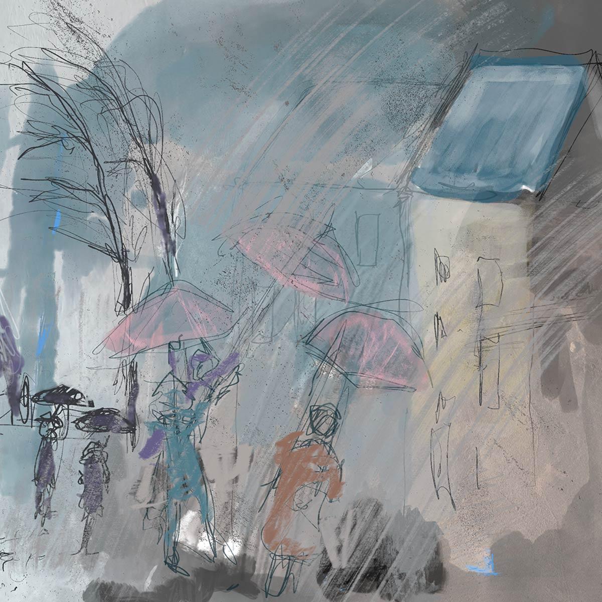singing in the rain © Anne-Riet de Boer